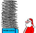 Wish Lists Royalty Free Stock Photo
