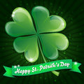 Wishes on St. Patricks Day Royalty Free Stock Images