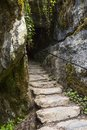The Wishing Steps at Blarney Castle Royalty Free Stock Photo