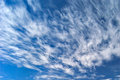 Wispy Clouds Royalty Free Stock Image