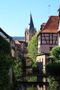 Wissembourg city of in alsace Stock Image