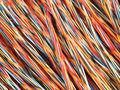 Wisted copper wires Royalty Free Stock Photography