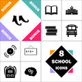 Witch boots computer symbol Royalty Free Stock Photo