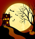 Witch house Stock Images