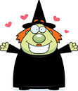Witch Hug Stock Image
