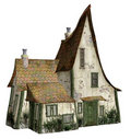Witch's cottage 2 Royalty Free Stock Images