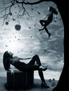 Witch Sin desire Royalty Free Stock Photo
