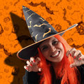 Witch sorcery Stock Images
