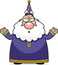 Wizard Confused Royalty Free Stock Photography