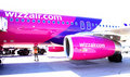 Wizzair Airbus Stock Photos