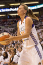 Wnba phoenix mercury win round one of finals the faced the minnesota lynx in professional basketball at the us airways center in Stock Photo