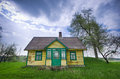 Wooden old house Royalty Free Stock Photo