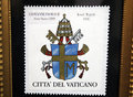 Wojtyla stamp Royalty Free Stock Photo