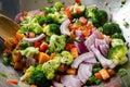Wok veggies. Royalty Free Stock Photo