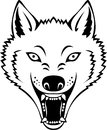 Wolf head Stock Images