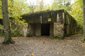 Wolf`s Lair, Adolf Hitler`s Bunker, Poland. First Eastern Front military headquarters, World War II. Complex blown up, abandoned Royalty Free Stock Photo