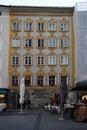Wolfgang Amadeus Mozart, Salzburg Royalty Free Stock Photo