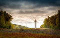 Wolin lighthouse Royalty Free Stock Photo