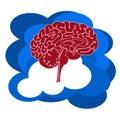 Wolken datenverarbeitung Lizenzfreies Stockfoto