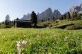Wolkenstein - Dolomites Stock Images