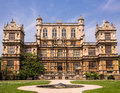 Wollaton hall nottingham england an historic elizabethan mansion used as a location for the batman film the dark knight rises Royalty Free Stock Images
