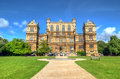 Wollaton Hall and Park Nottingham Nottingham, UK, England Royalty Free Stock Photo
