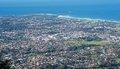 Wollongong city and suburbs Royalty Free Stock Images