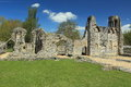 Wolvesey castle ruins the of medieval in winchester Stock Photo