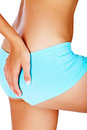 Woman buttocks Royalty Free Stock Images