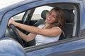 Woman In Car Singing