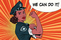 Woman COP we can do it
