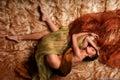 Woman dreaming Royalty Free Stock Photo
