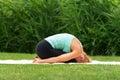 Woman Exercise Yoga Asana Chil...