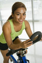 Woman exercising. Royalty Free Stock Photos