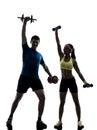 Woman Exercising Fitness Worko...