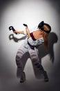 Woman gaming virtual reality