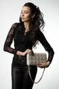 Mujer bolso