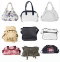 Woman handbags Royalty Free Stock Photos