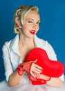 Woman heart Valentine's Day Royalty Free Stock Photography