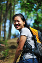 Woman hiker Royalty Free Stock Photos