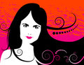 Woman Illustration Royalty Free Stock Images