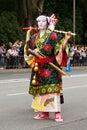 Woman at Jidai Matsuri festival in Japan Royalty Free Stock Photo