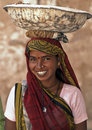 Woman Labourer in India Royalty Free Stock Photo