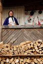 Woman from Maramures Stock Photography
