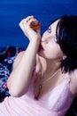 Woman perfume Royalty Free Stock Photo