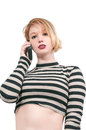 Woman on the phone beautiful talking a cell Royalty Free Stock Image