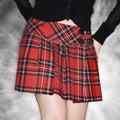 Mujer en tartán Faldas