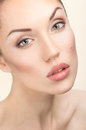 Woman portrait with natural make-up Royalty Free Stock Images