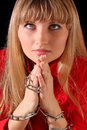 Woman pray Royalty Free Stock Photos