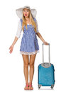Woman Ready For Summer Travel ...